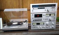 Sansui Vintage Hifi Seperates System Inc Tape Tuner amplifier & Turntable - VGC