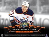 2018-19 Upper Deck Portraits Parallel Cards Pick From List (Gold or Blue)