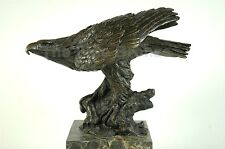Milo Sculpture, American Eagle Bird Bronze Statue
