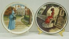 Set of Avon collectible plates 1977 and 1979 National Association Avon