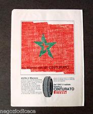 [GCG] P393 - Advertising Pubblicità -1968- CINTURATO PIRELLI , IN MAROCCO
