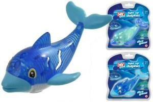 DOLPHIN LIGHT-UP DIVE GAME, BATH TOY, SWIMMING AID, STOCKING FILLER, SUBMARINE