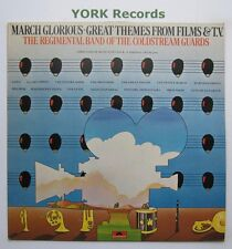 BAND OF THE COLDSTREAM GUARDS - March Glorious - Ex LP Record Polydor 2383 372