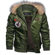 Winter Military Bomber Jacket Men Air Force Army Warm Wool Liner Tactical Coat