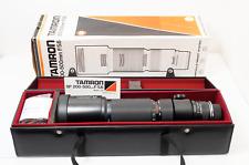 Tamron SP 200-500 f5.6 for Nikon Super Zoom Telephoto lens MINT boxed