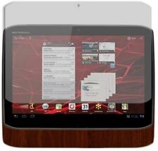 Skinomi Tablet Skin Dark Wood Cover+Clear Screen Protector for Motorola XOOM 2