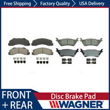 8X FRONT+REAR Wagner Ceramic Disc Brake Pad Kit For FORD F-150 2012-2016 NEW