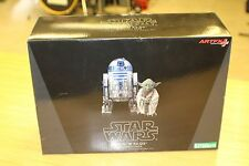 Star Wars Artfx Yoda & R2-D2 Dagobah 1/10 Statue Kotobukiya