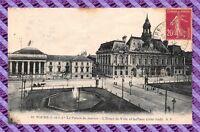 CPA 37 - Tours - le palais de justice - l'hotel de ville et la place