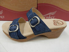Dansko Womens Sophie Leather Denim Size EU 37