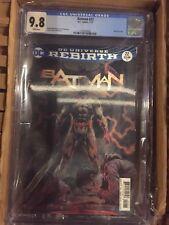 BATMAN #22 (2017) THE BUTTON Part 3 lenticular cover CGC 9.8 white pages DC