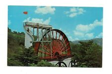 Isle of Man - Laxey, The Water Wheel - Postcard Franked 1974
