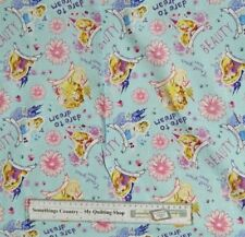 Quilting Patchwork Sewing Fabric DISNEY PRINCESSES CINDERELLA Material 50x55F...