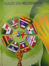 Libro Campionati Mondiali di Calcio Brasile 2014 - 160 pagine [SC48]