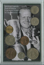 JACK NICKLAUS VINTAGE GOLF US Open CHAMPIONSHIP WINNER Retrò MEDAGLIA Set Regalo 1962