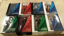 DC COLLECTIBLES SUPERGIRL BIZARO ORION GREEN LANTERN COLD STARGIRL MANTA 8PC LOT