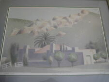 """William Buffett Signed """"California Foothills"""" Artists Proof (AP) Lithograph"""