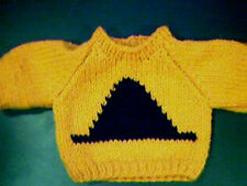 Customized Halloween Witch Hat Sweater Handmade for 14 inch Build A Bear Cub