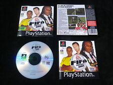 JEU Sony PLAYSTATION PS1 PS2 : FIFA FOOTBALL 2003 (EA Sports COMPLET env. suivi)