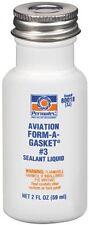 Permatex 3J Aviation Form-A-Gasket No. 3 Flange Fuel Gasket Sealant Dressing
