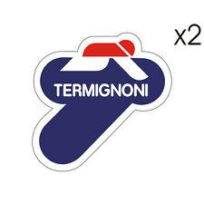 2 Stickers plastifiés TERMIGNONI - 10cm x 10cm