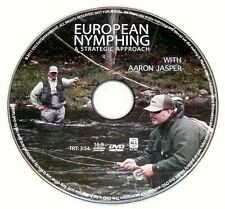 EUROPEAN NYMPHING - A STRATEGIC APPROACH DVD With Aaron Jasper >NEW<