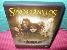 EL SEÑOR DE LOS ANILLOS - LA COMUNIDAD DEL ANILLO - 2 dvds