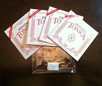 Pirastro Tonica New Formula * 4/4 Full Size* Violin Medium String Set Ball Ends