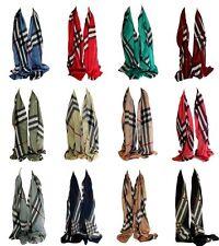 mousseline de soie style coloré imprimé carreaux écharpe Stole hijab Enveloppe