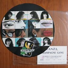 Champgne Gang – LOVELY CHAMPAGNE LP PICTURE DISC ZANZA – ZR 0124