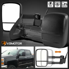 2014-2018 Silverado Sierra 1500 POWER+HEATED Telescoping Towing Side Mirrors