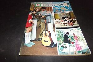 Vintage Green Stamps Idea book Catalog Guitar Fishing Dishes Lamps Drapes Clocks