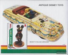 Sierra Leone Block282 (kompl.Ausg.) postfrisch 1995 Altes Walt-Disney-Spielzeug