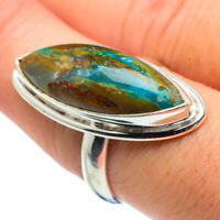 Large Peruvian Opal 925 Sterling Silver Ring Size 8 Ana Co Jewelry R29184F