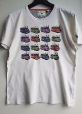 "Ted Baker  White ""Ice cream van"" T shirt Size 3 / UK M"