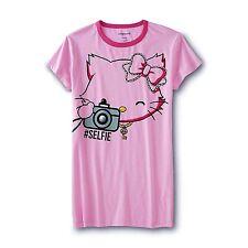 Plus Size 1X Womens Hello Kitty Nightgown Pajamas Sleep Shirt Sanrio Charmmy XL