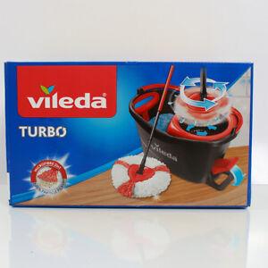 ORIGINAL VILEDA EASY WRING & CLEAN TURBO BODENWISCHER SET WISCHMOPP NEU
