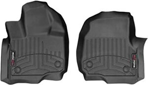 WeatherTech FloorLiner Mats for Expedition/ Navigator 2018-2019 1st Row Black