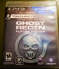 Tom Clancy's Ghost Recon: Future Soldier  (Sony Playstation 3, 2012)