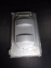 New FC-61V Grey Duplex Receptacle or Duplex Switch Cover- 87FC61V