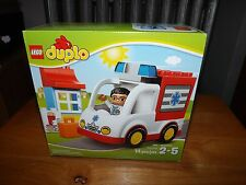 LEGO DUPLO, AMBULANCE, KIT #10527, 14 PIECES, NEW IN BOX, 2014