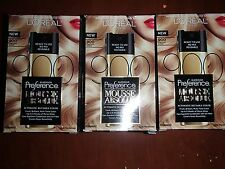 3 BOXES  L'Oreal Superior Preference Mousse Absolue  900 PURE LIGHT BLOND