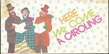 Mini Here We Come A Caroling Booklet Finance America Bank America Vintage 1970's
