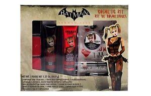Womens BATMAN Arkham City Videogame Harley Quinn Makeup Cosmetic Kit