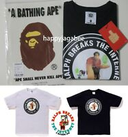 (S-2XL) A BATHING APE Men's BAPE x Ralph Breaks the Internet TEE #2 2colors New