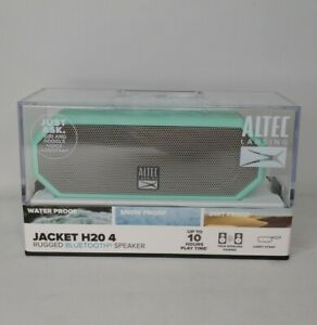 Altec Lansing Jacket H20 Rugged Bluetooth Speaker Waterproof - Green NEW