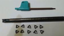 1P SNR 0008K08 Threading Cut boring bar tool Holder +10P 08IR A60 SMX35