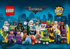 LEGO 71020 BATMAN MOVIE MINIFIGURES – SERIE 2 – COMPLETA LA COLLEZIONE