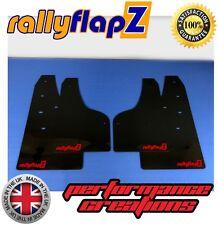 rallyflapz Ford Focus ST Mk3 ST250 Schmutzfänger Satz & Schrauben schwarz RF rot