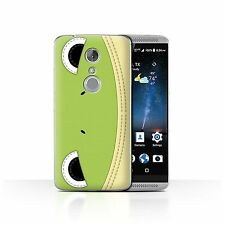 Stuff4 Case/cover for ZTE Axon 7/axon 2/animal Stitch Effect/frog